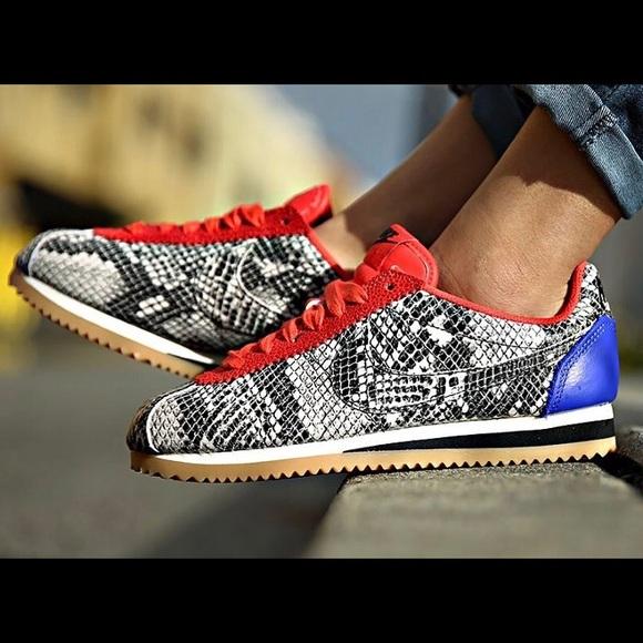 pretty nice f8d25 52da8 Nike Women's Cortez Leather Premium Python Skin. M_5a5d5c4b8af1c5a991769261